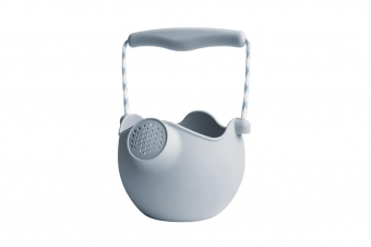 Watering can egg blue