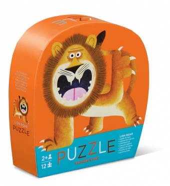 12pc mini puzzle lion